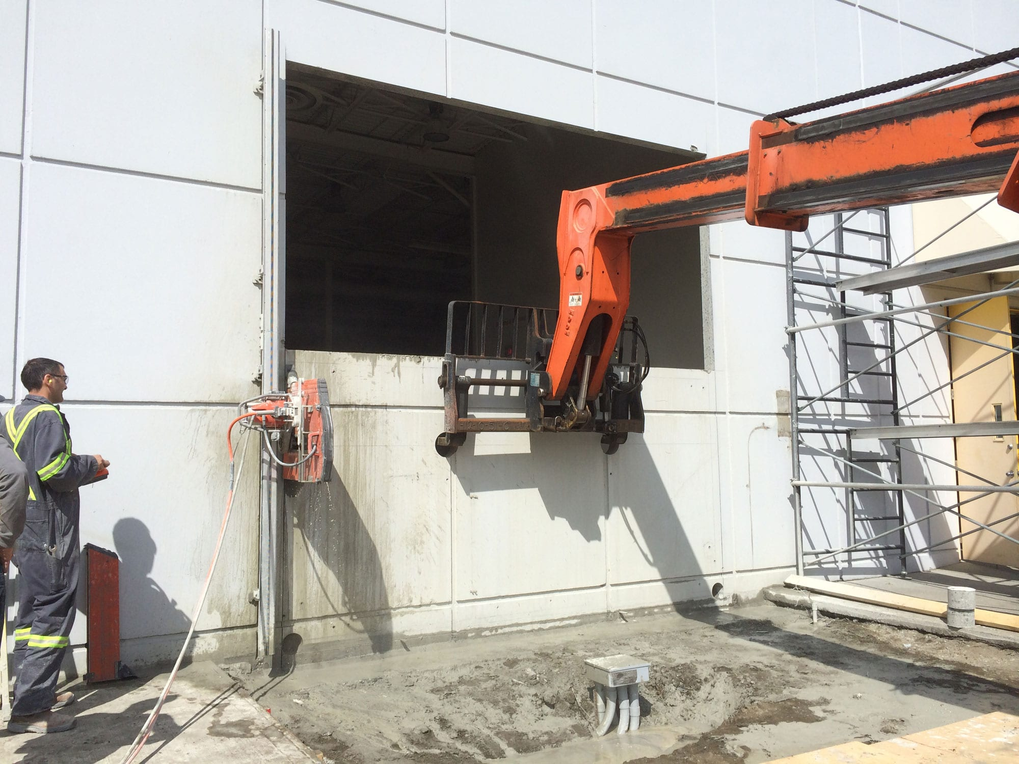 Pacific Concrete Wall Sawing : Concrete wall sawing cutting coring