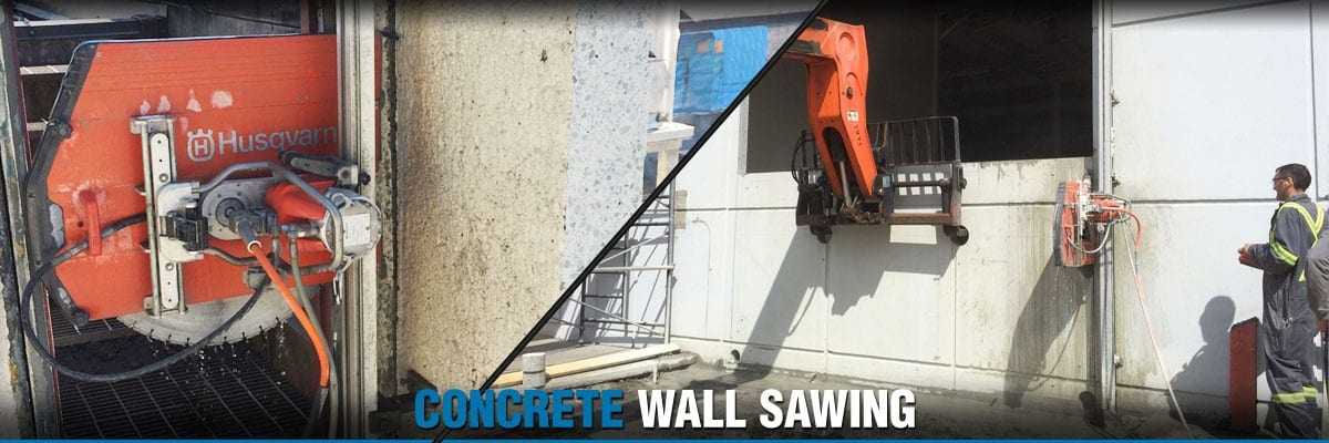 Permalink to: Concrete Wall Sawing